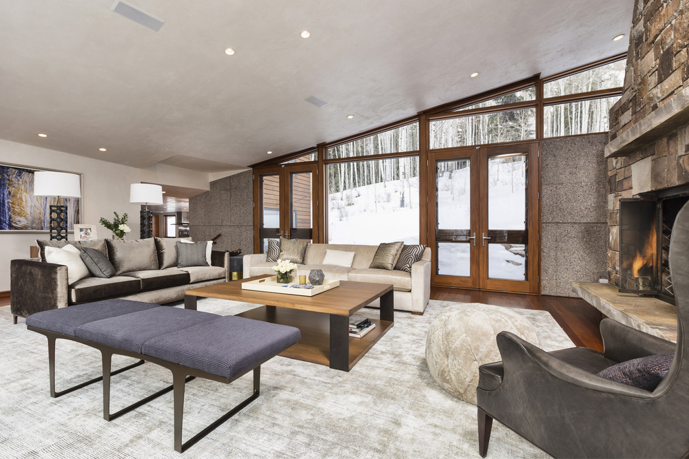 Luxury Mountain Home interior design by Cathers Home