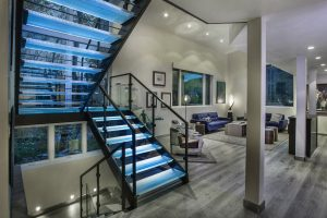 Featured Project: A Custom Designed Glass Staircase