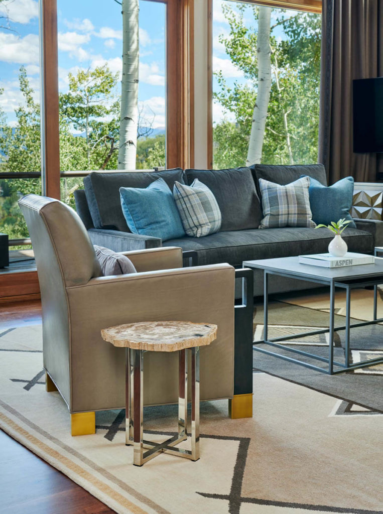 Mountain top retreat Snowmass - interior by Cathers Home